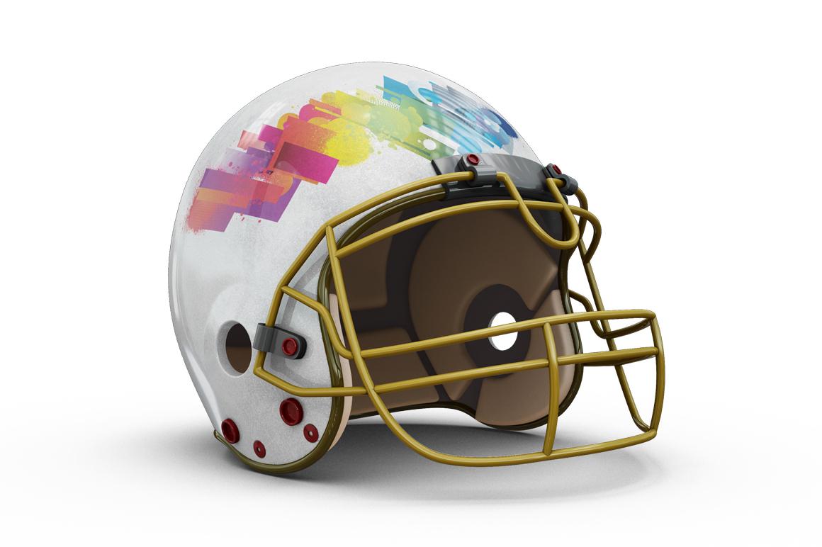 Football Helmet Mockup example image 4