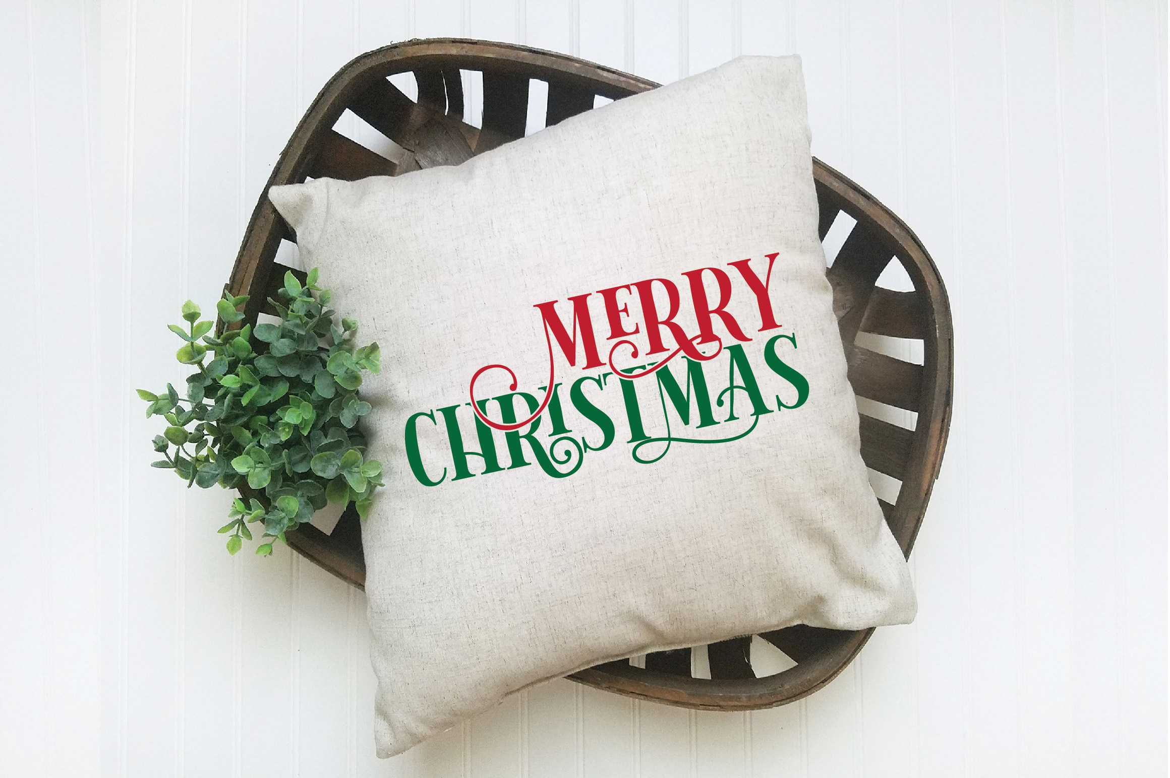 Merry Christmas SVG Cut File example image 4