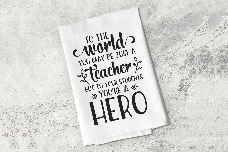 Teacher SVG Bundle, Teacher Appreciation, Teacher Gift Ideas example image 5