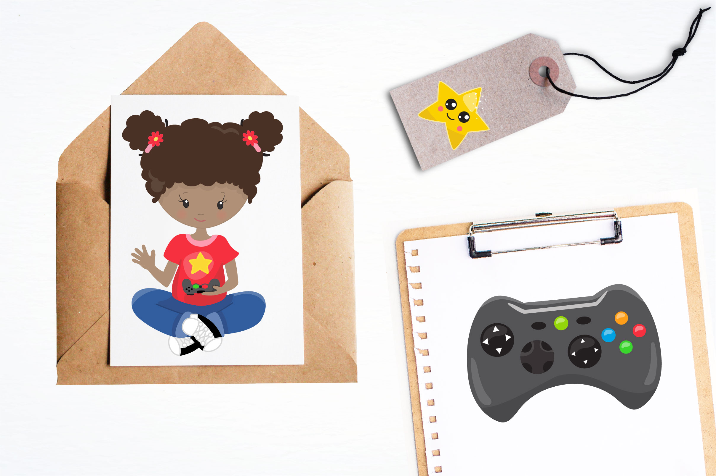 Game kids graphics and illustrations example image 3