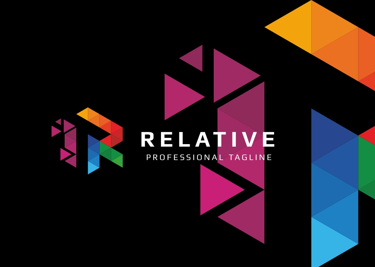 Relative R Letter Logo example image 4