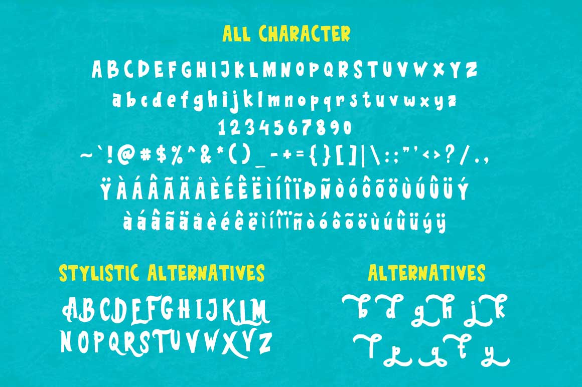 Blue Sea Typeface example image 5