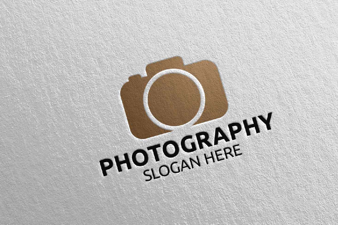 Abstract Camera Photography Logo 15 example image 4