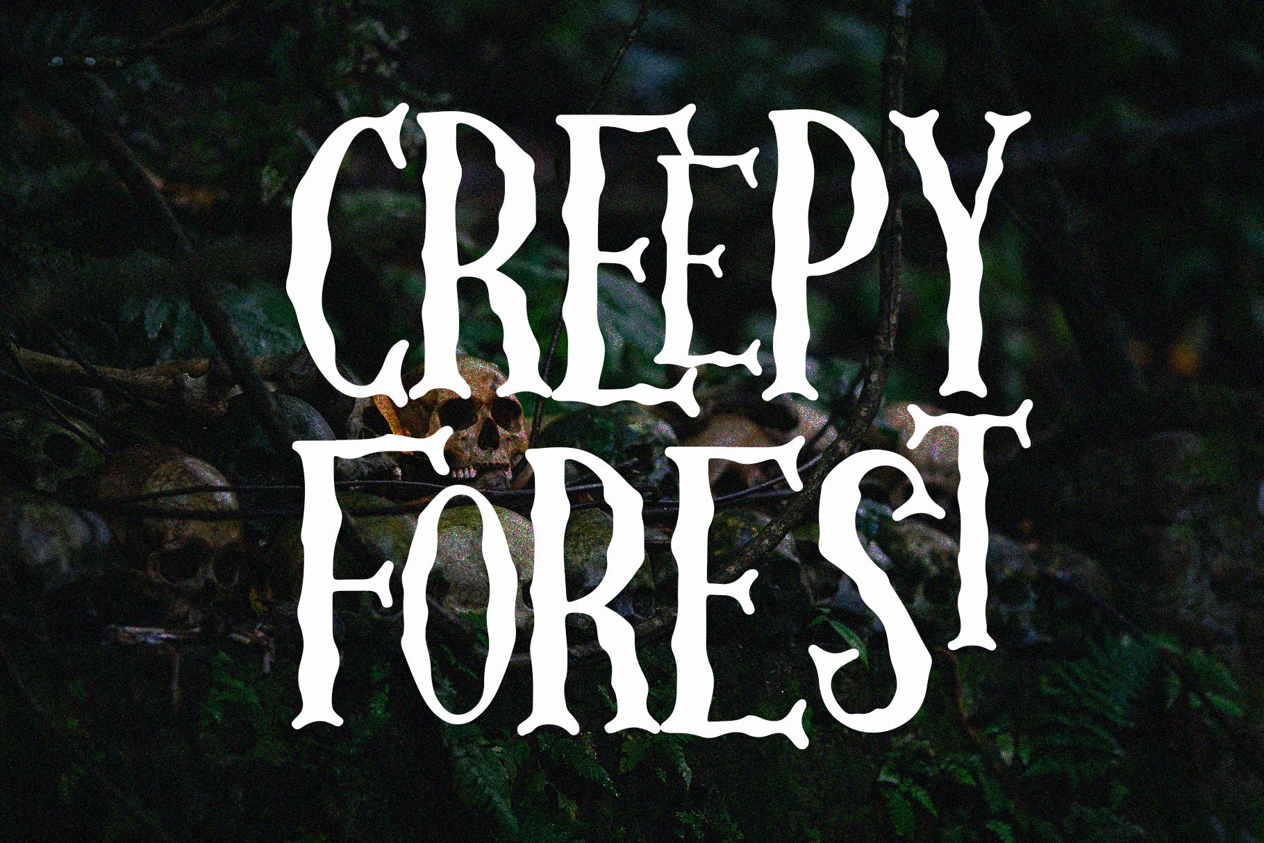 Skellington Hollow - Creepy Font example image 3