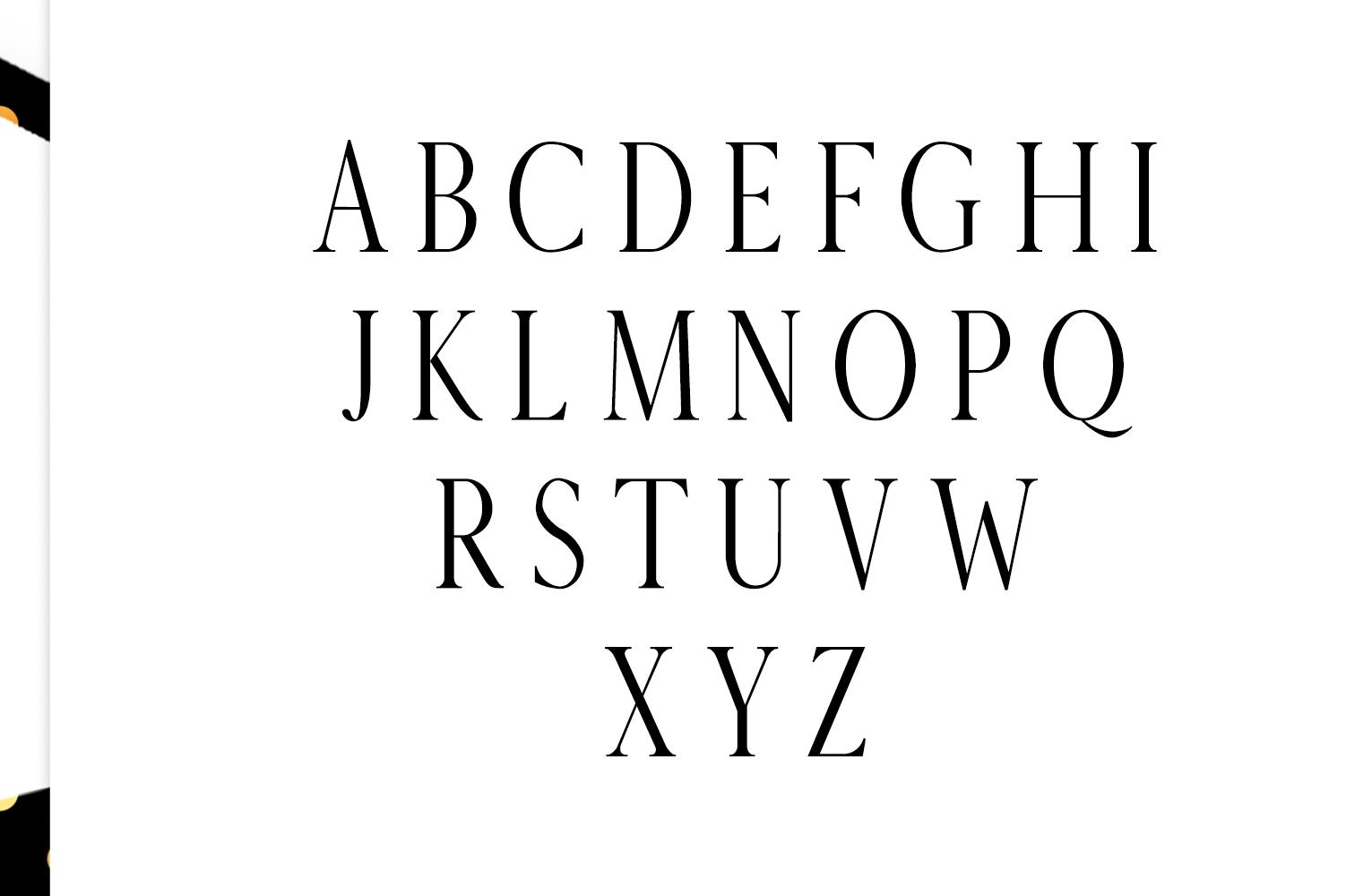 Veera Serif Typeface example image 2