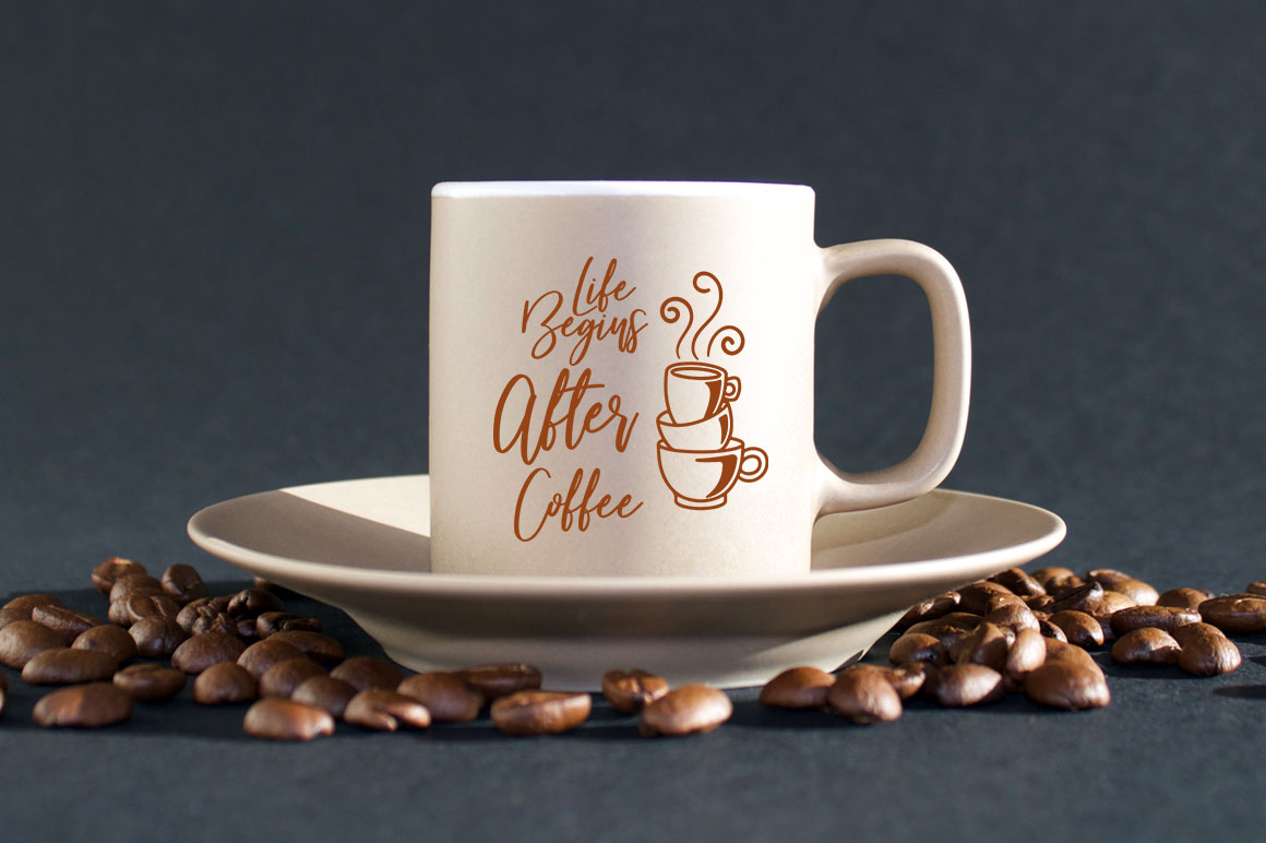 Coffee SVG one Quote 12 designs example image 6