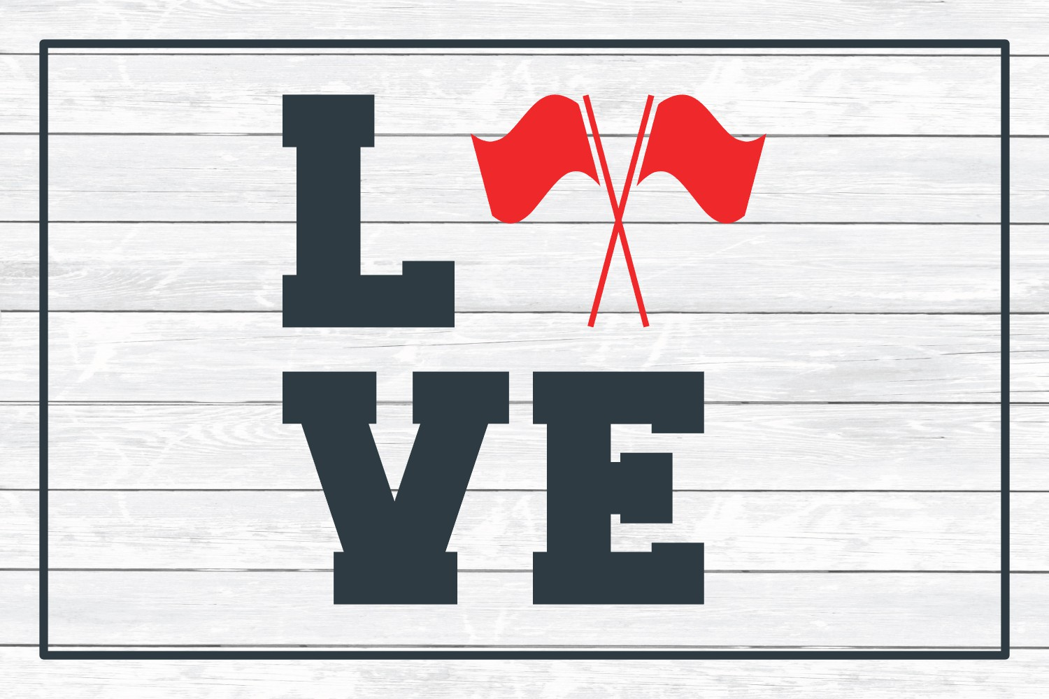 Color Guard Love, SVG Cut File for Crafters example image 3