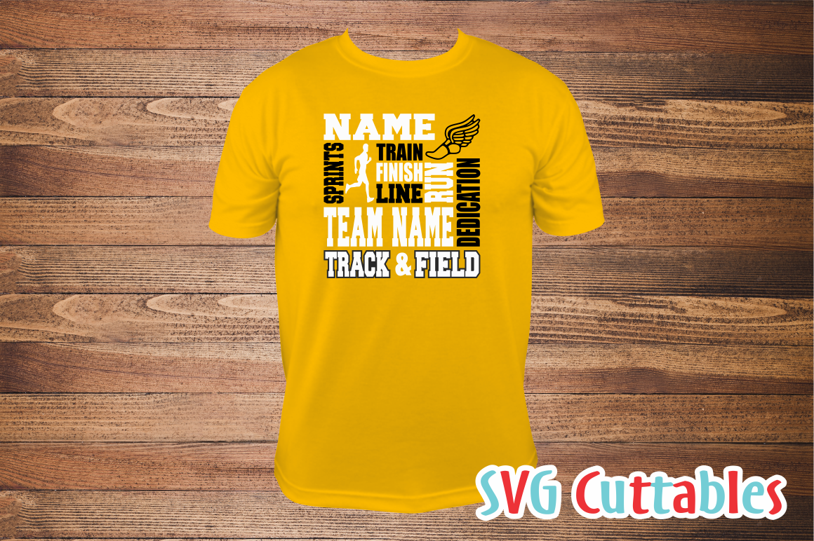 Track svg, Track and Field Subway Art svg cut file example image 3