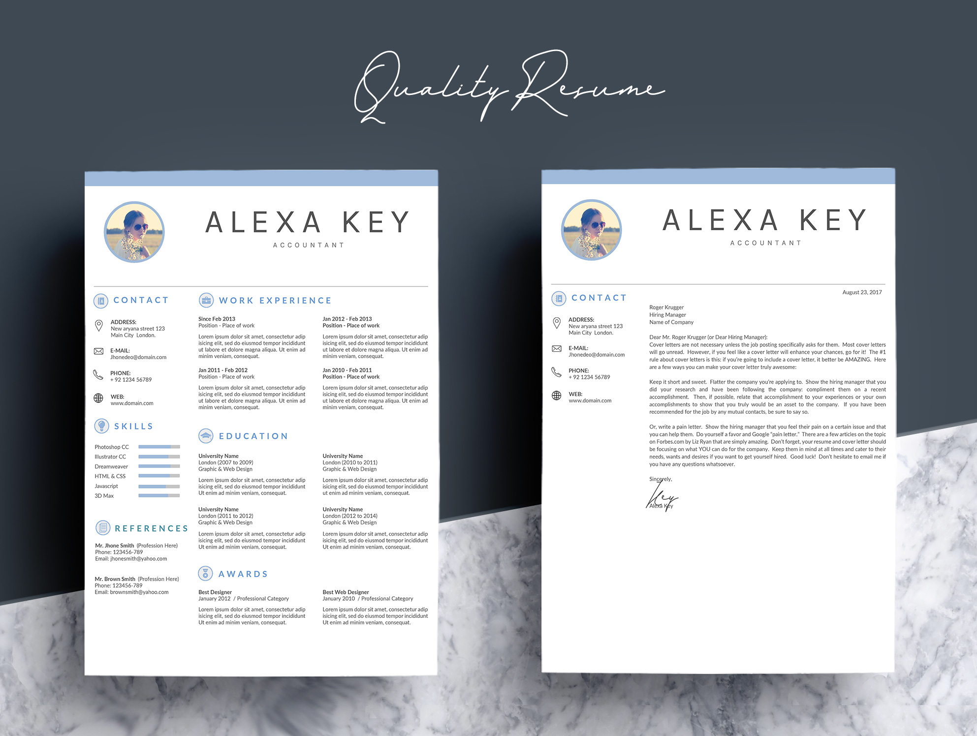Professional Resume Template example image 4