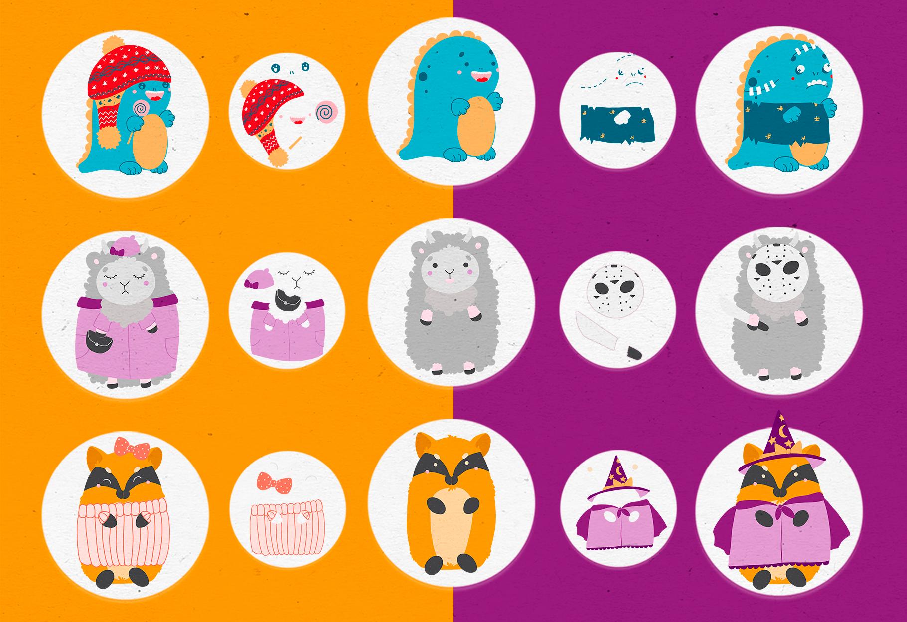 Character creator - Fall holidays example image 5