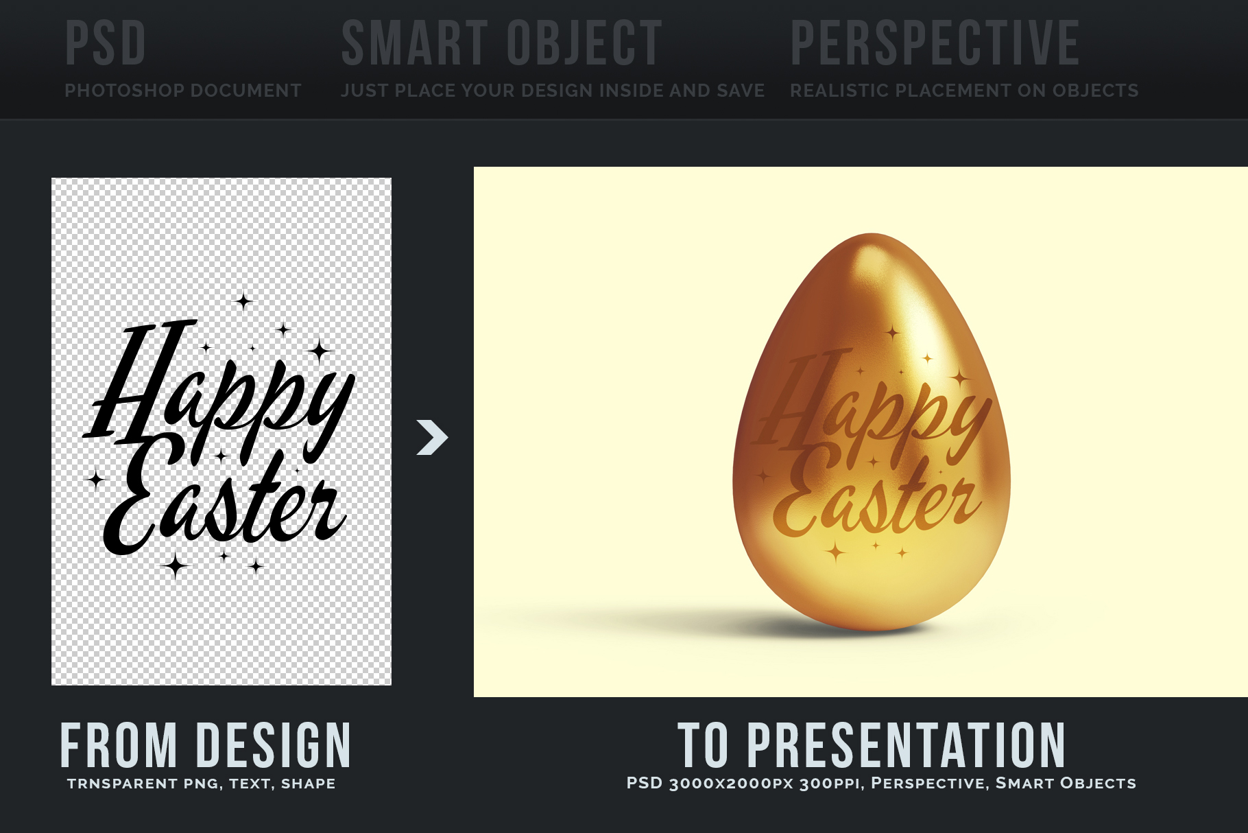 Easter Egg Mockups and Images example image 2