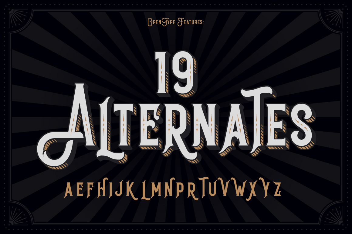 Black Queen font & bonus graphics example image 5