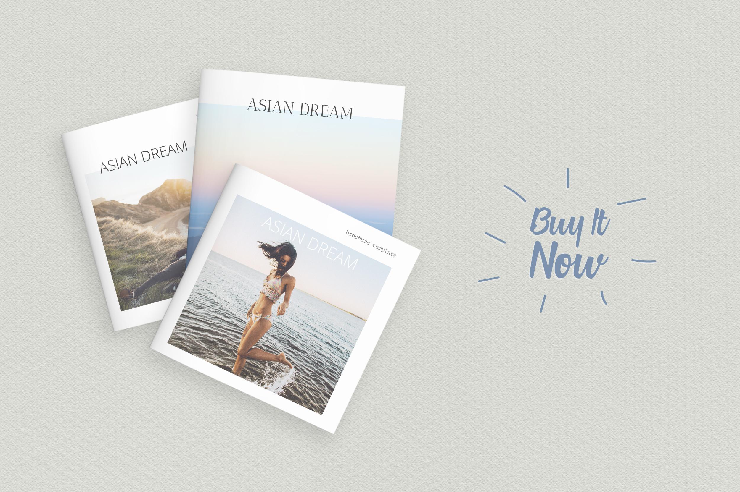 Asian Dream Brochure Template example image 6