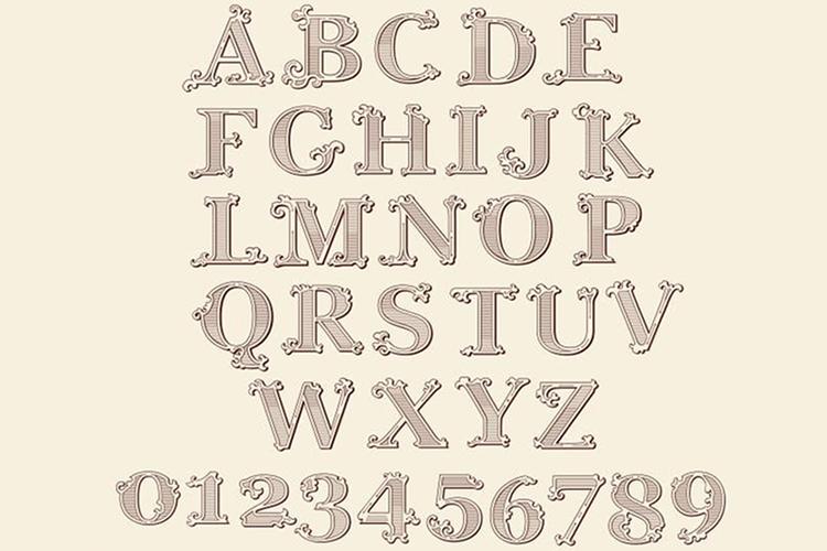 Tatianna   Vintage Font Family example image 6