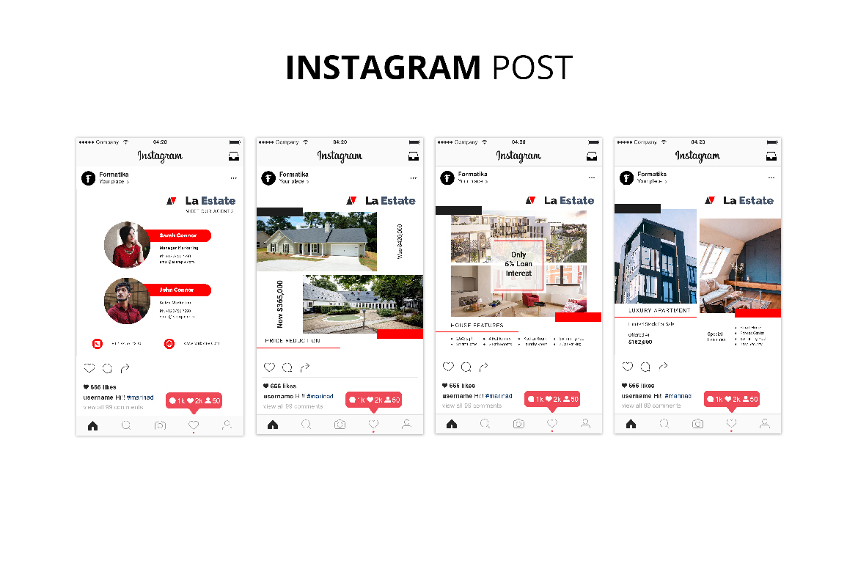 La Estate Real Estate Social Media example image 7
