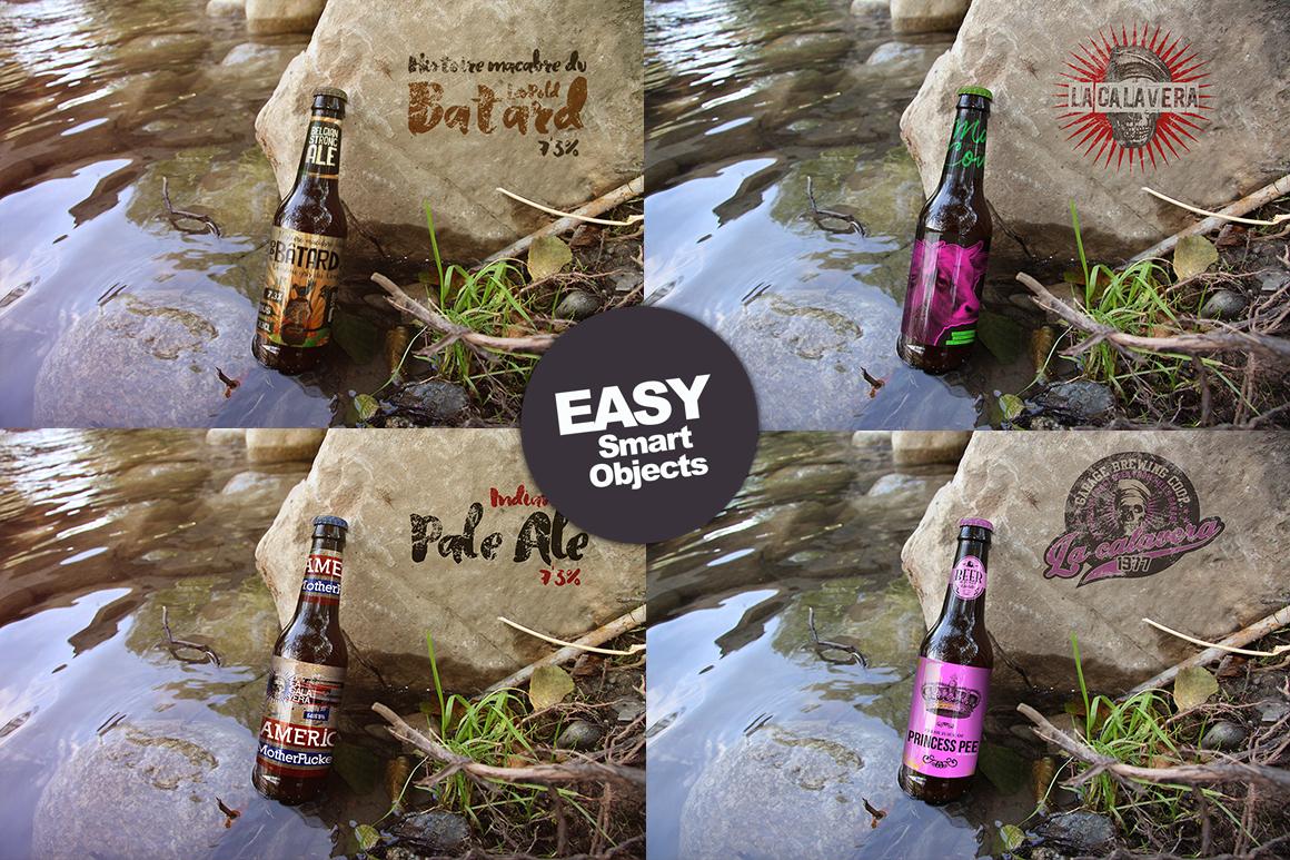 50 Beer Mockups Bundle 85 OFF example image 5