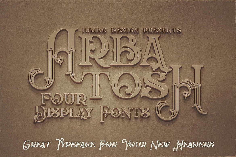 Arbatosh - Display Font example image 4
