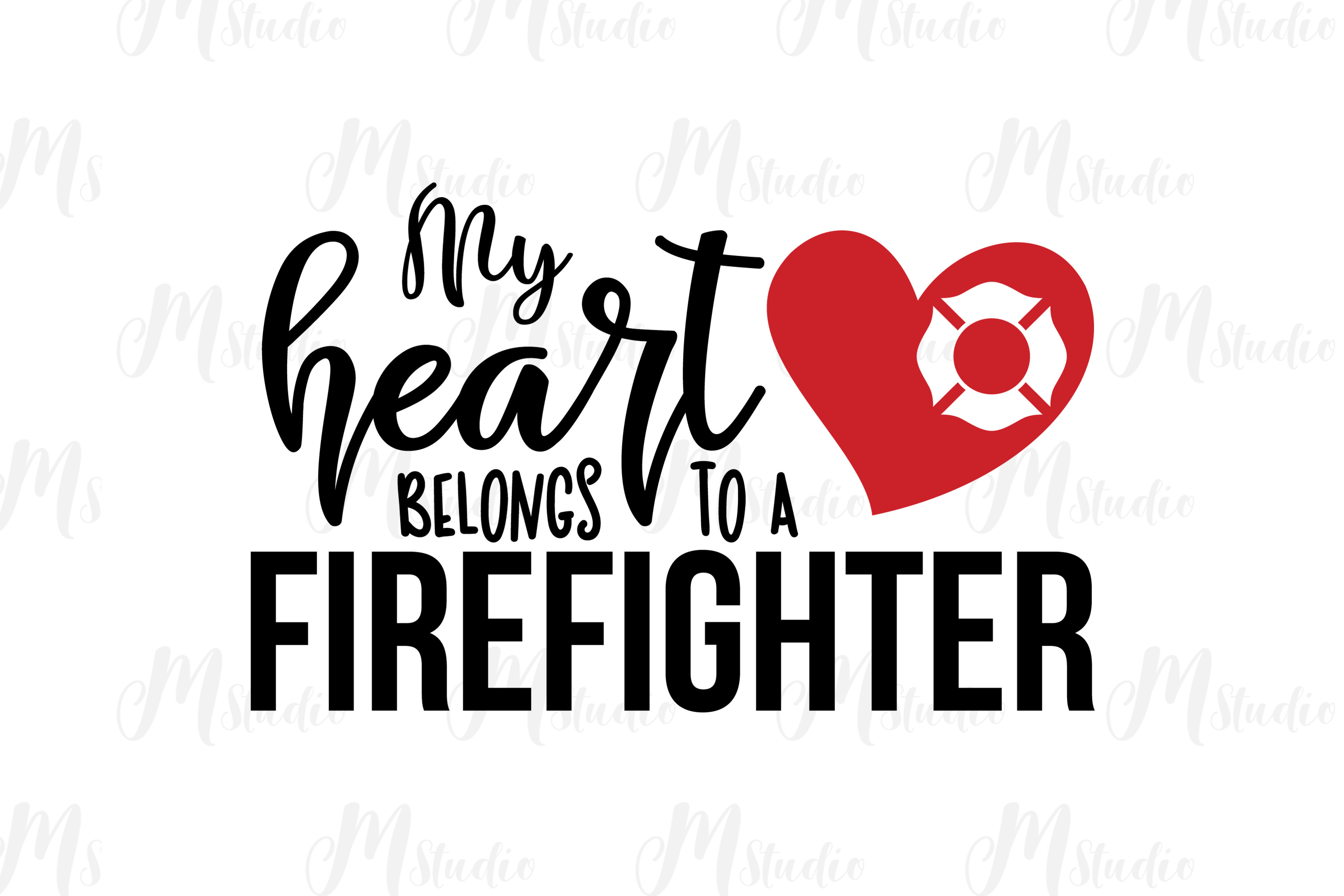 Firefighter SVG bundle example image 4