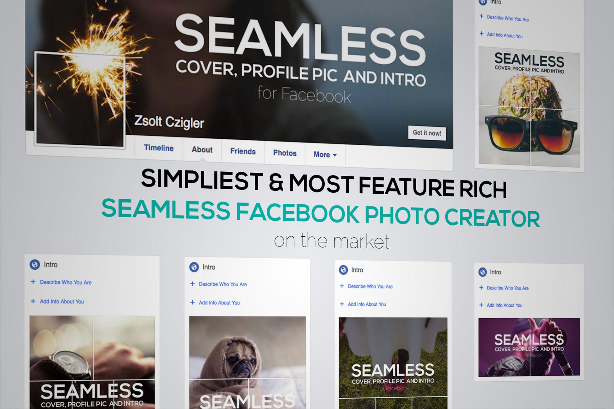 Seamless Facebook Photo Creator example image 8