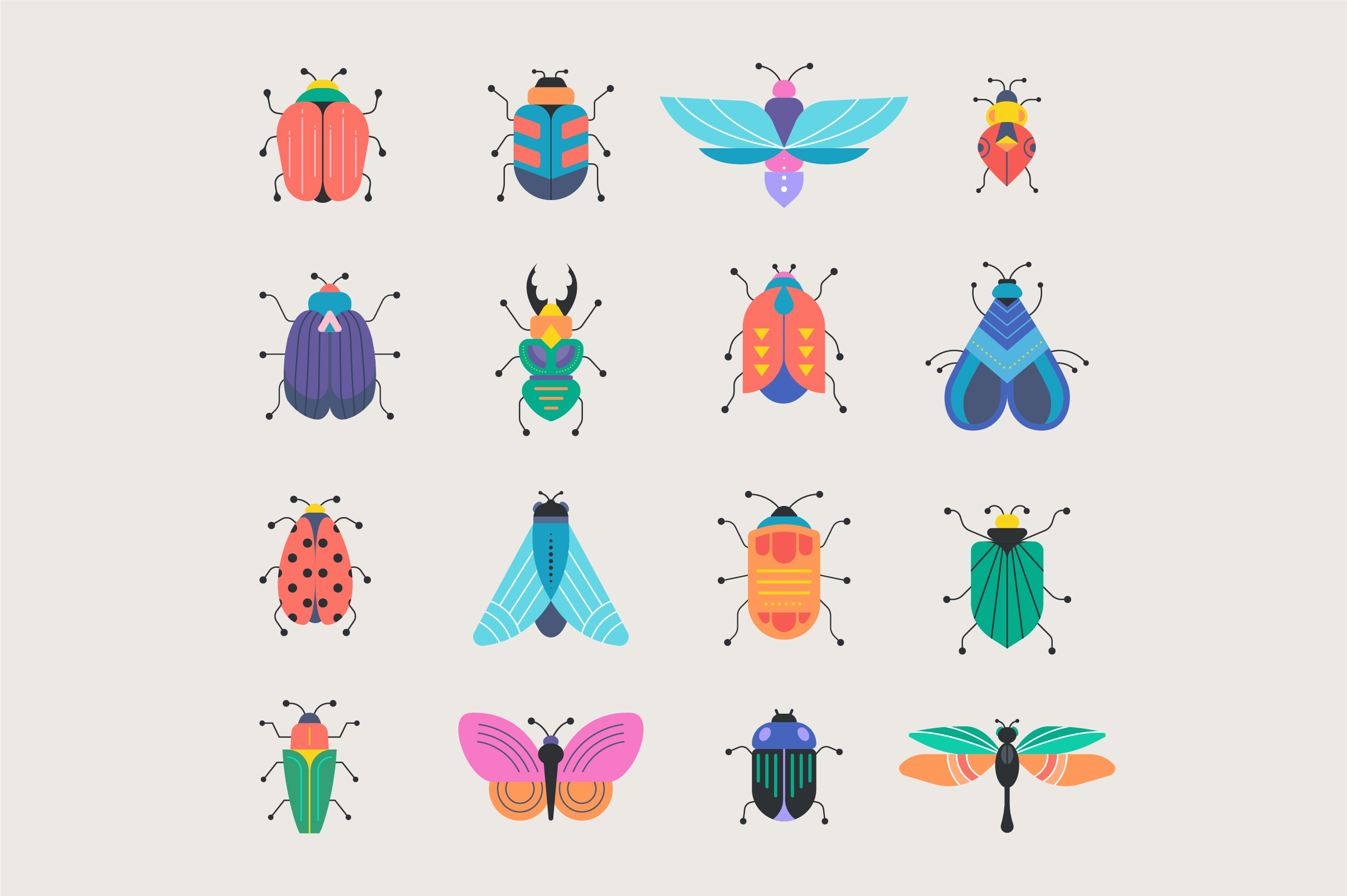 Bugs and insects collection  example image 2