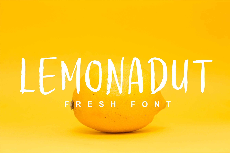 Lemonadut Fresh Font example image 1