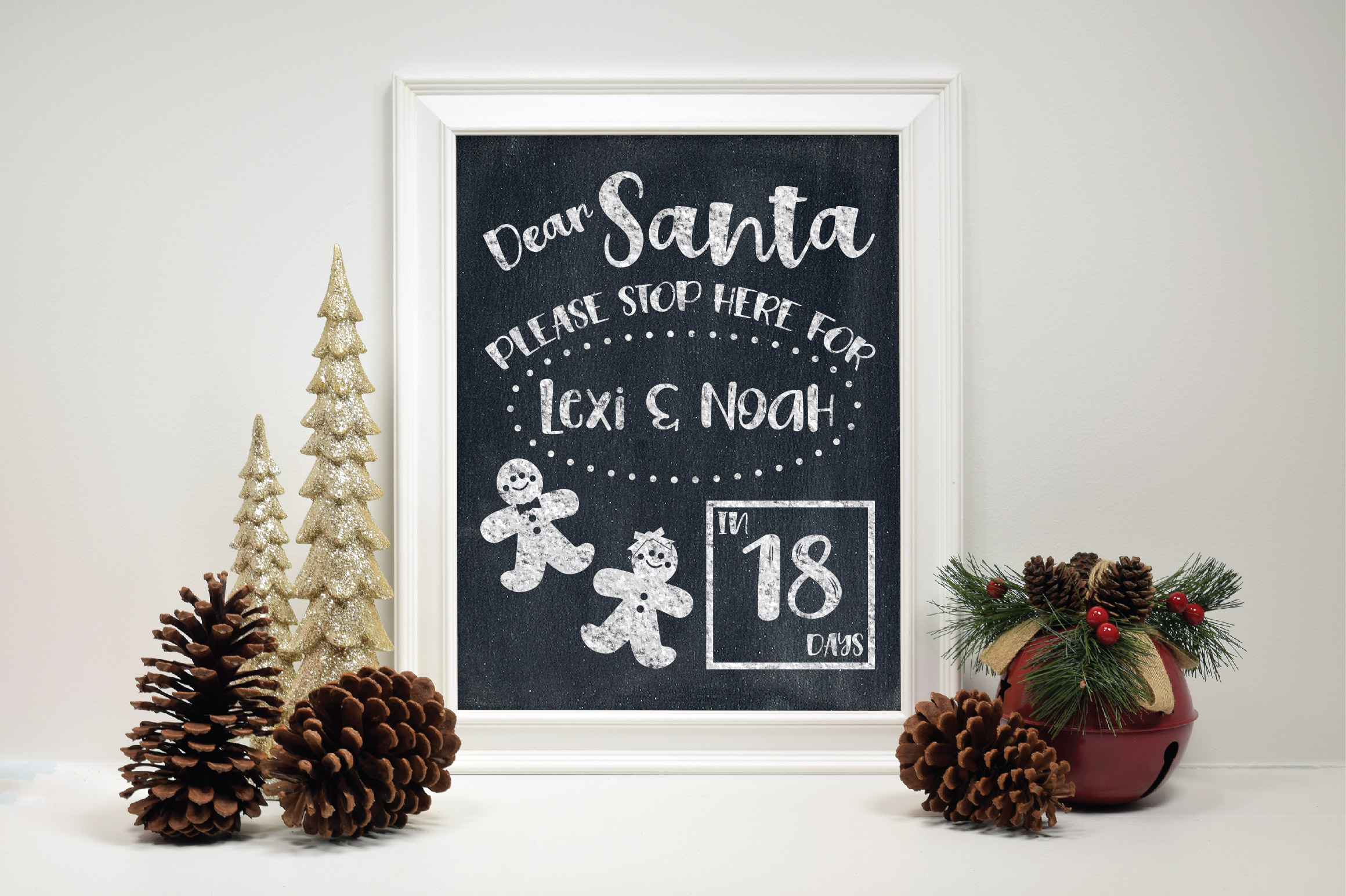 Christmas SVG Bundle with 10 Christmas Countdown Cut Files example image 8