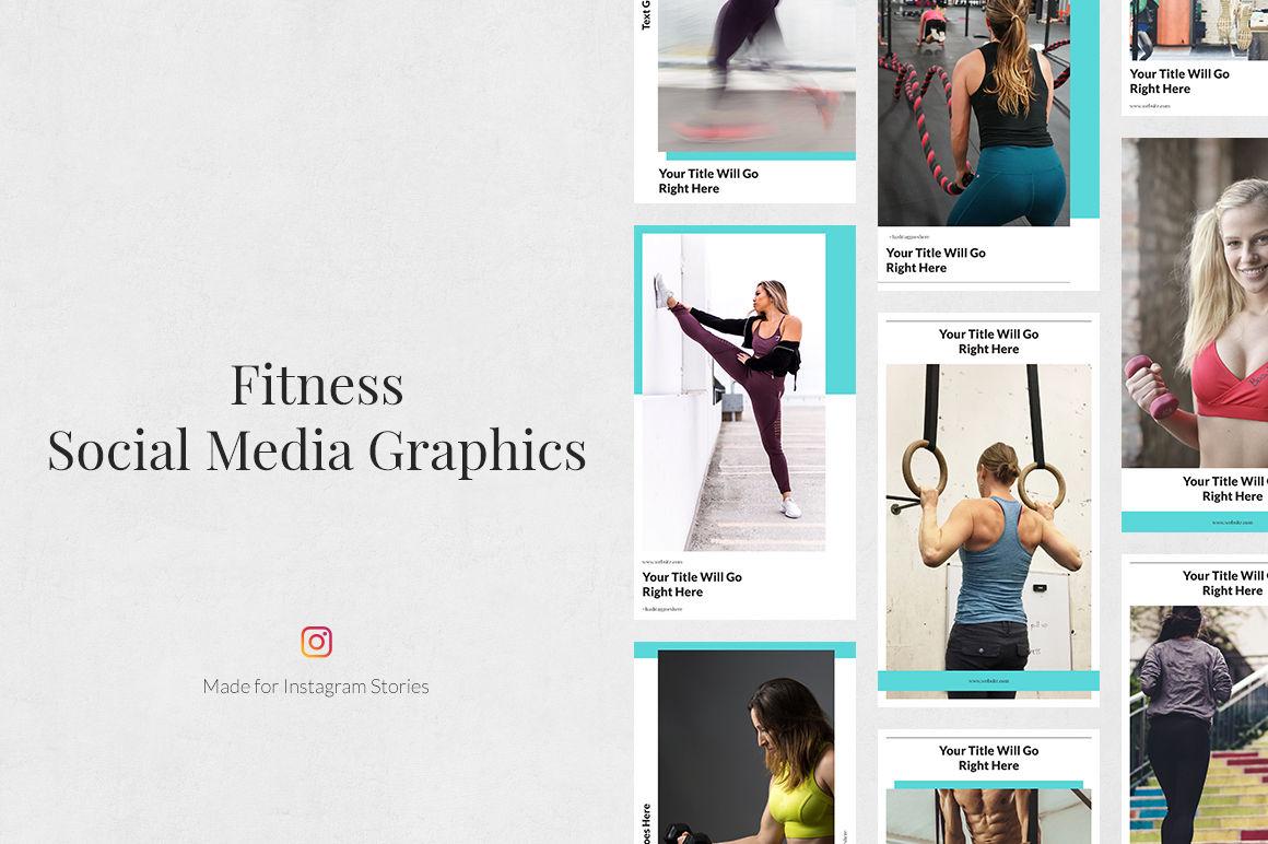 Fitness Instagram Stories example image 1