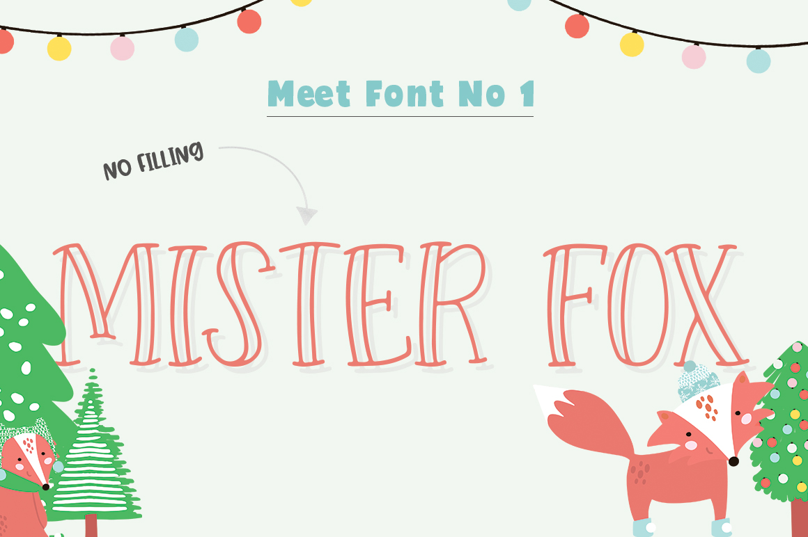 Forest Creatures Font Trio example image 2