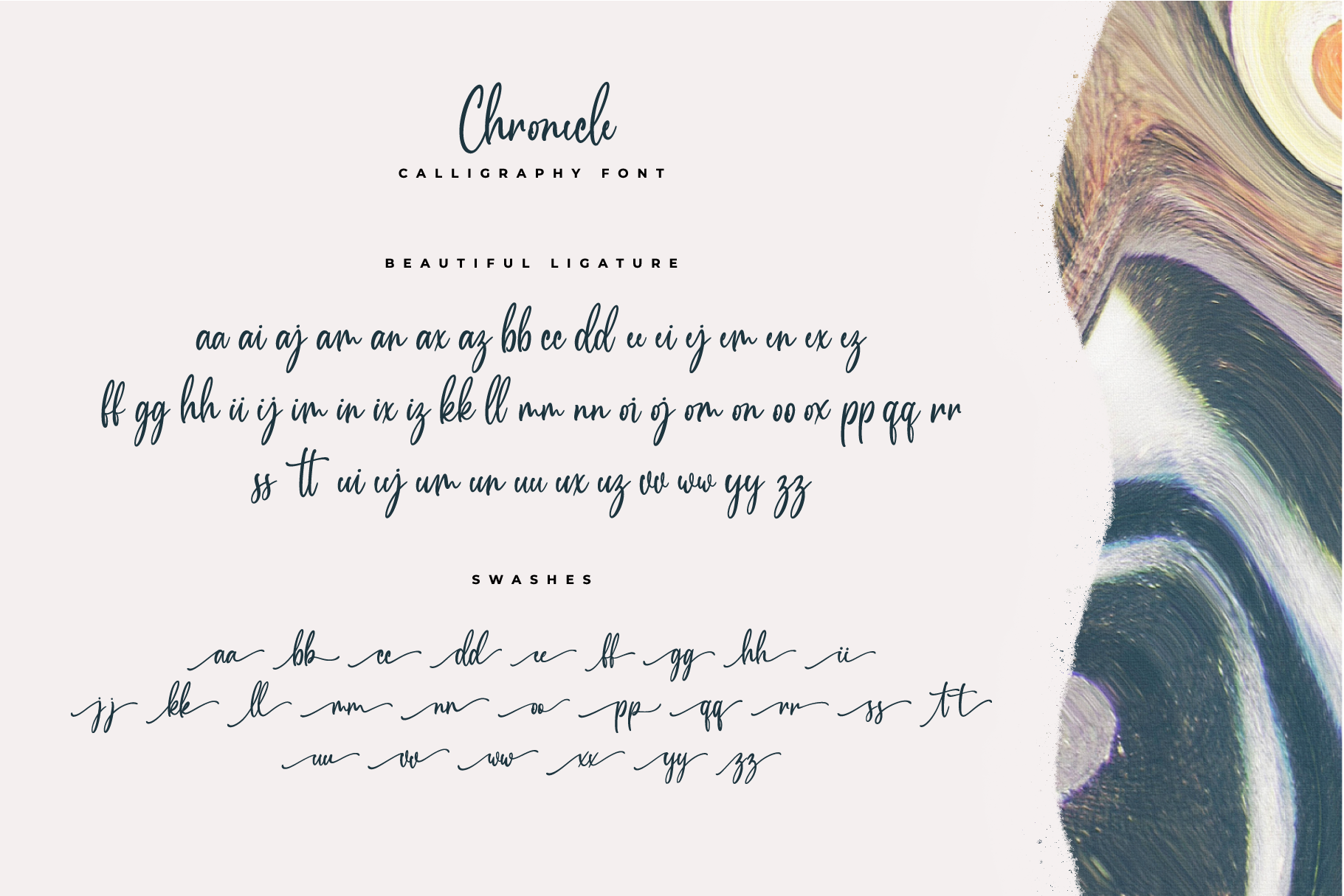 Chronicle Calligraphy Font example image 10