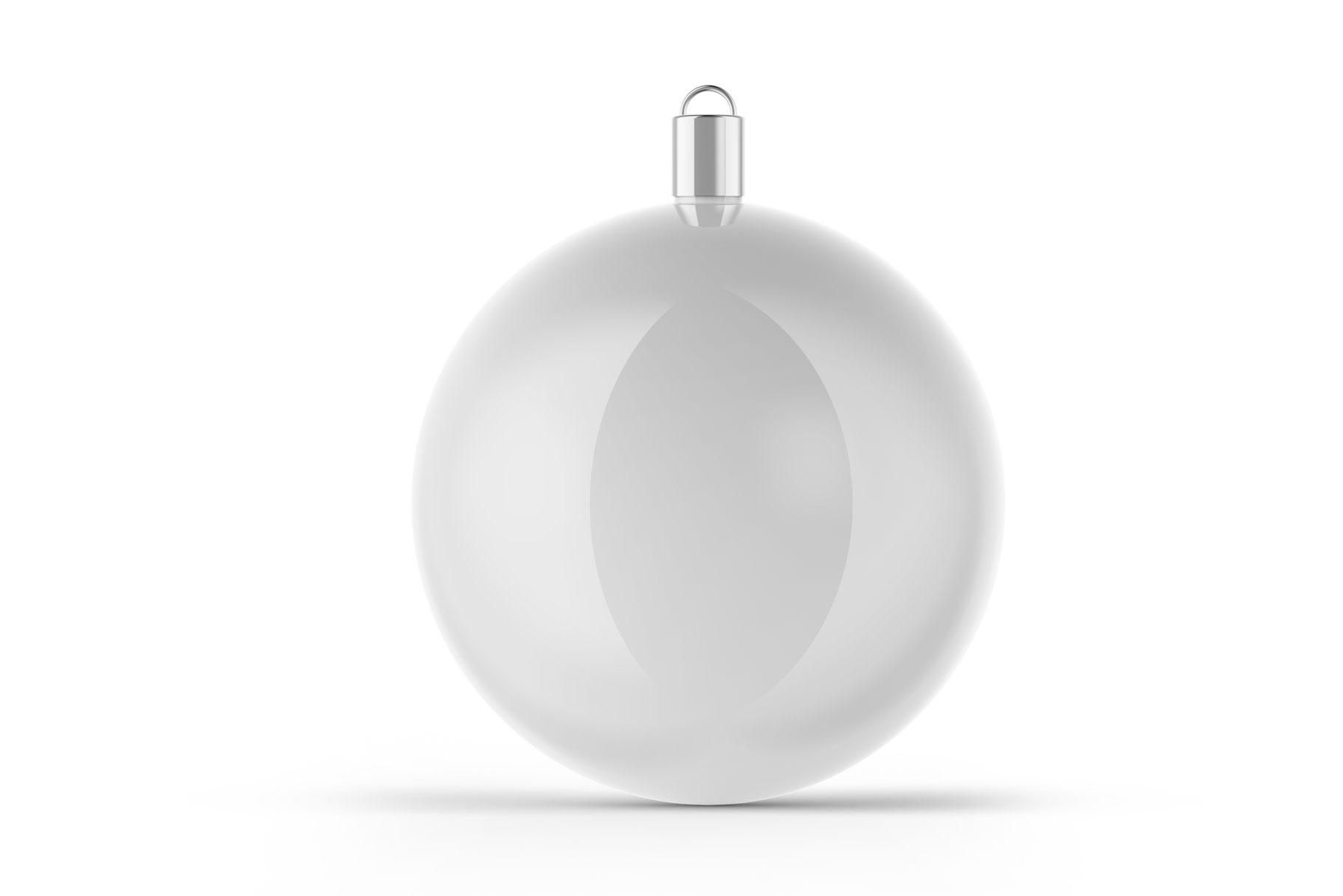 Glossy Christmas Ball Mockup example image 3