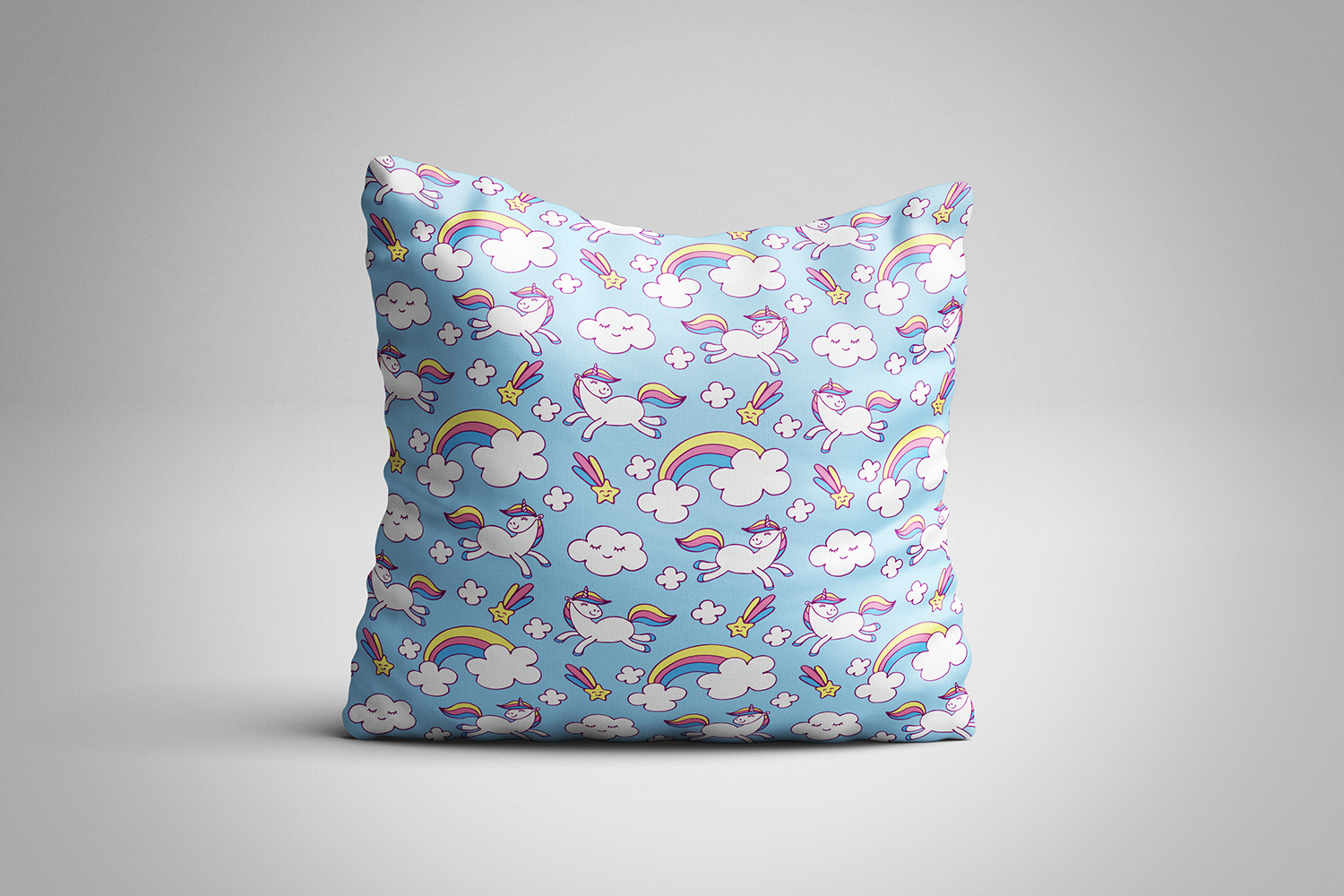 Cute unicorns. Vector elements and patterns. example image 3