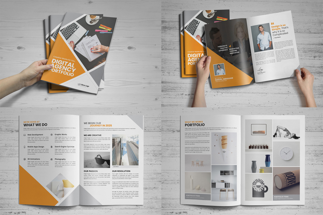 Portfolio Brochure Bundle example image 2