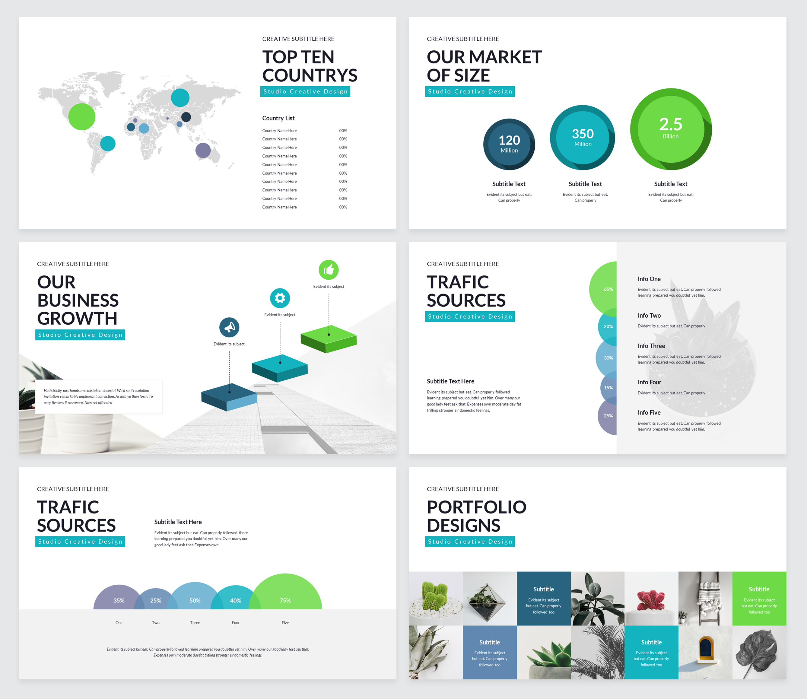 Rox Business PowerPoint Presentation Template example image 7