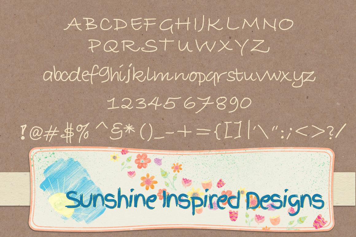 Font No.1, No.2 and No.3 example image 4