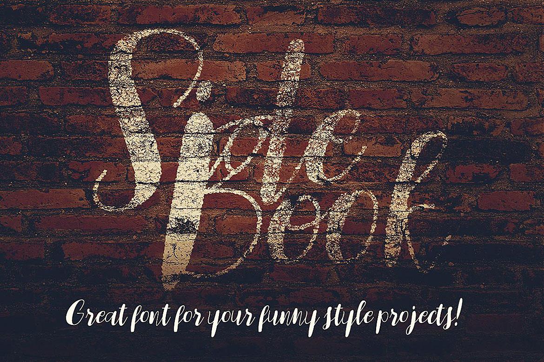 Sidebook Script Font example image 6