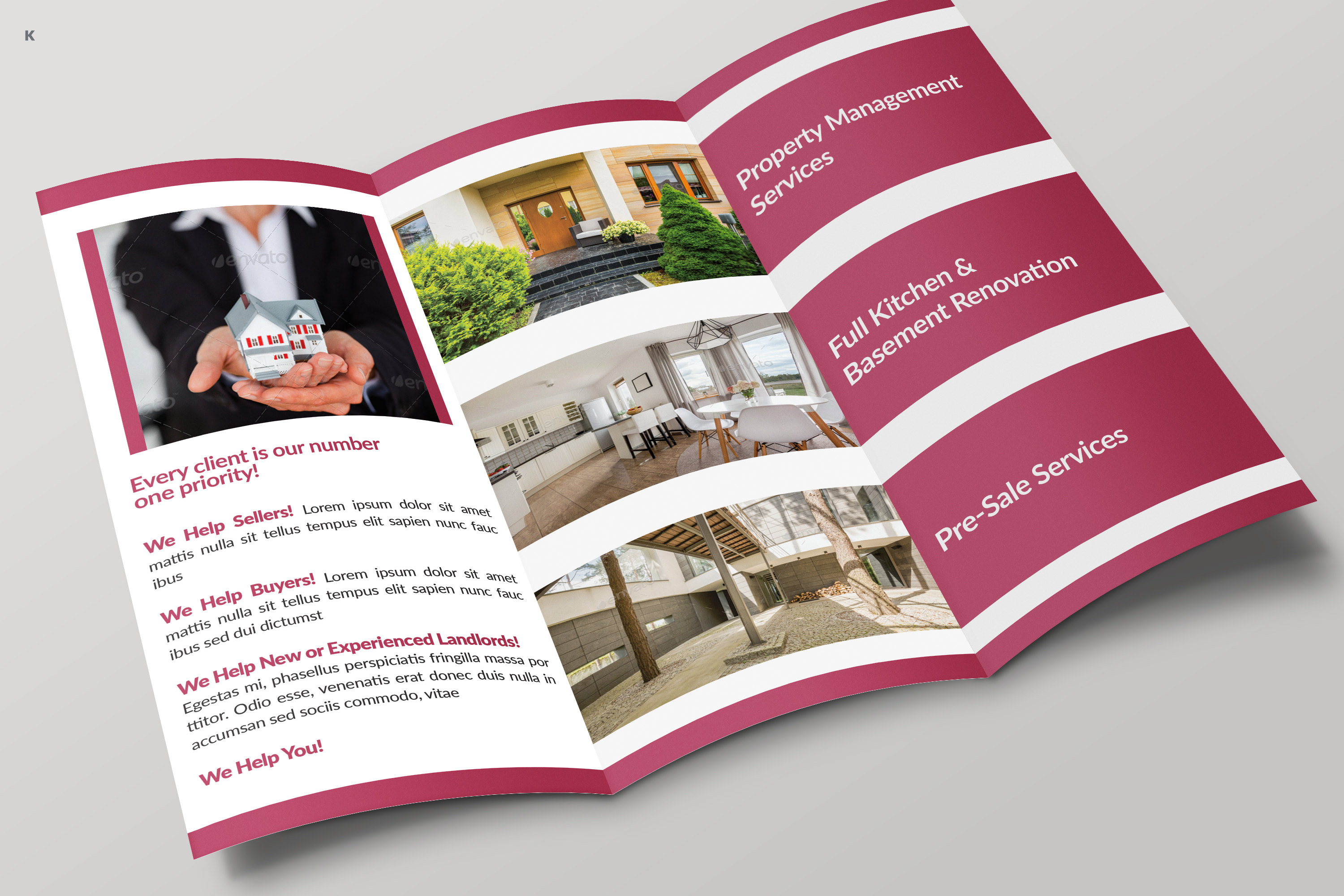 Real Estate Trifold example image 6