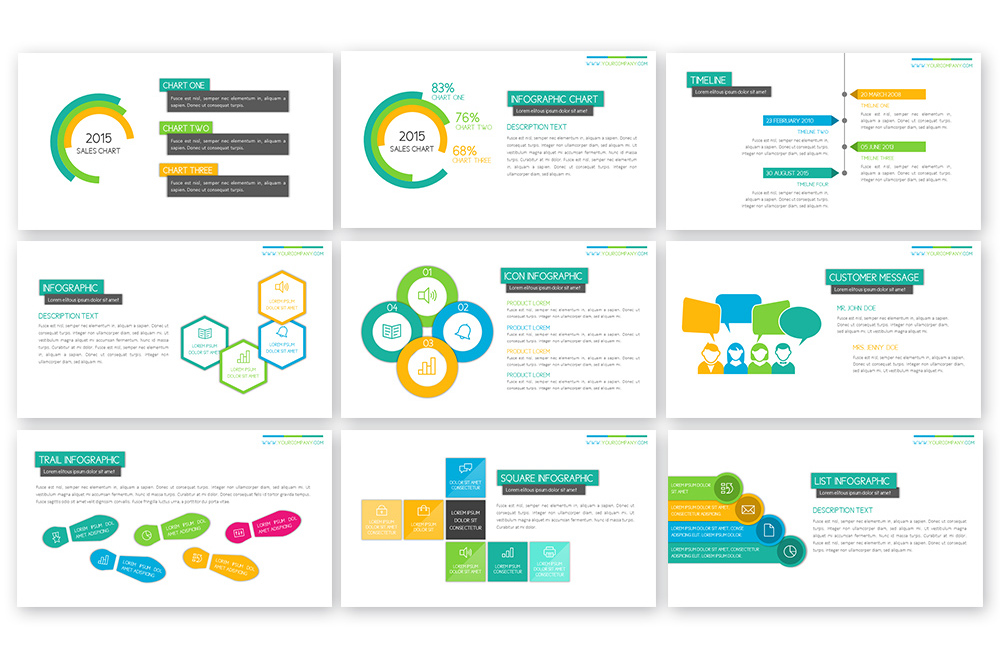 Peppy Powerpoint Template example image 6