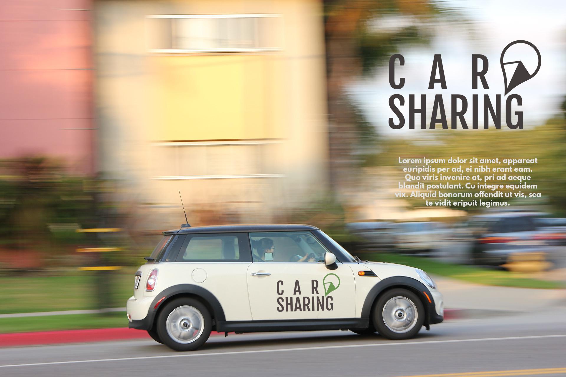 Car Sharing Badges & Elements example image 4