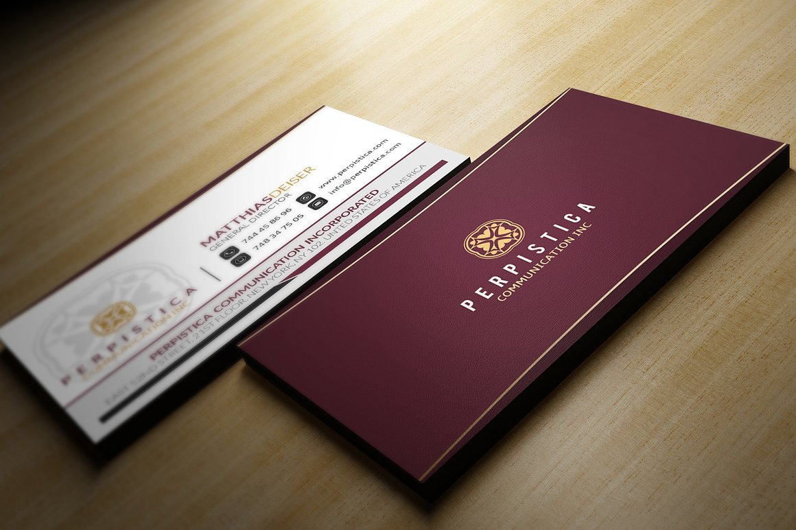 Elegant Business Card example image 2