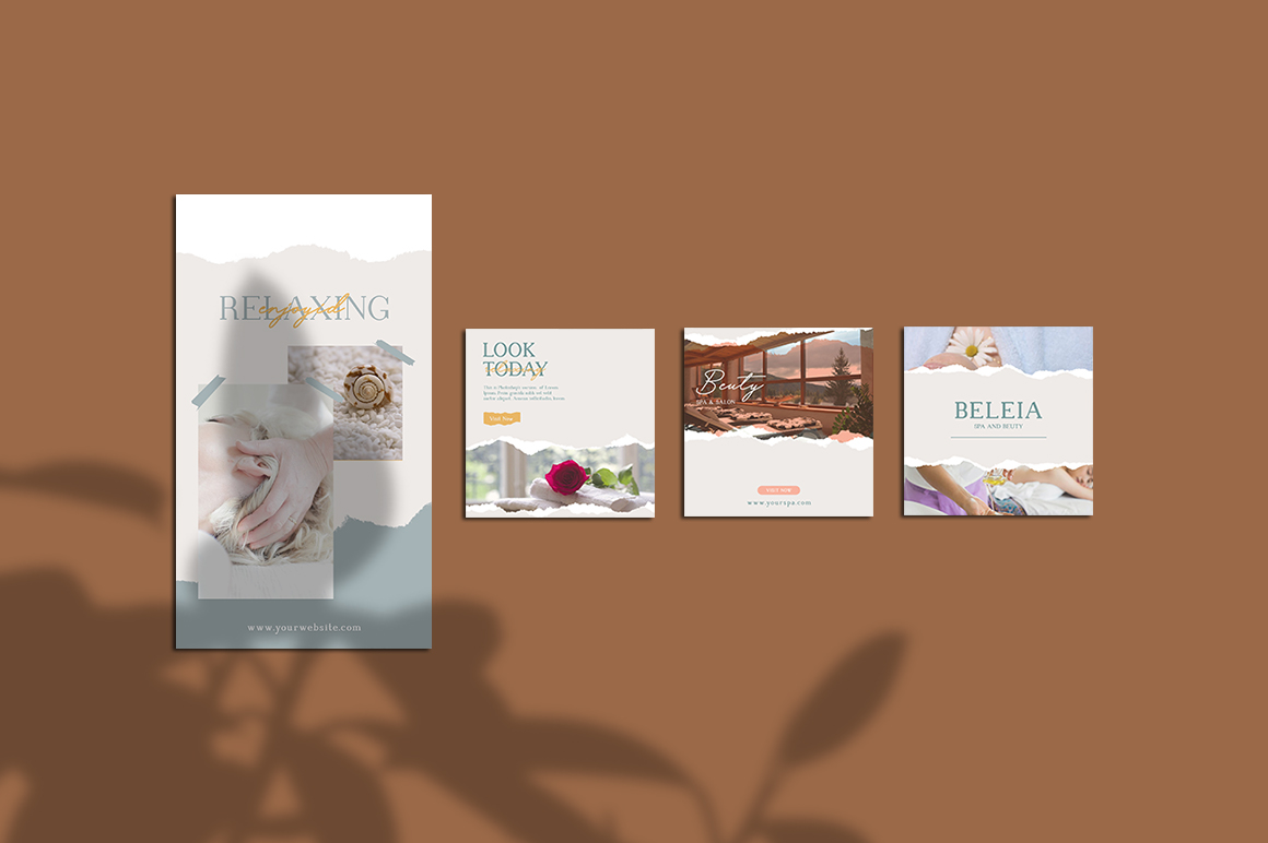 Relax Instagram Templates example image 4