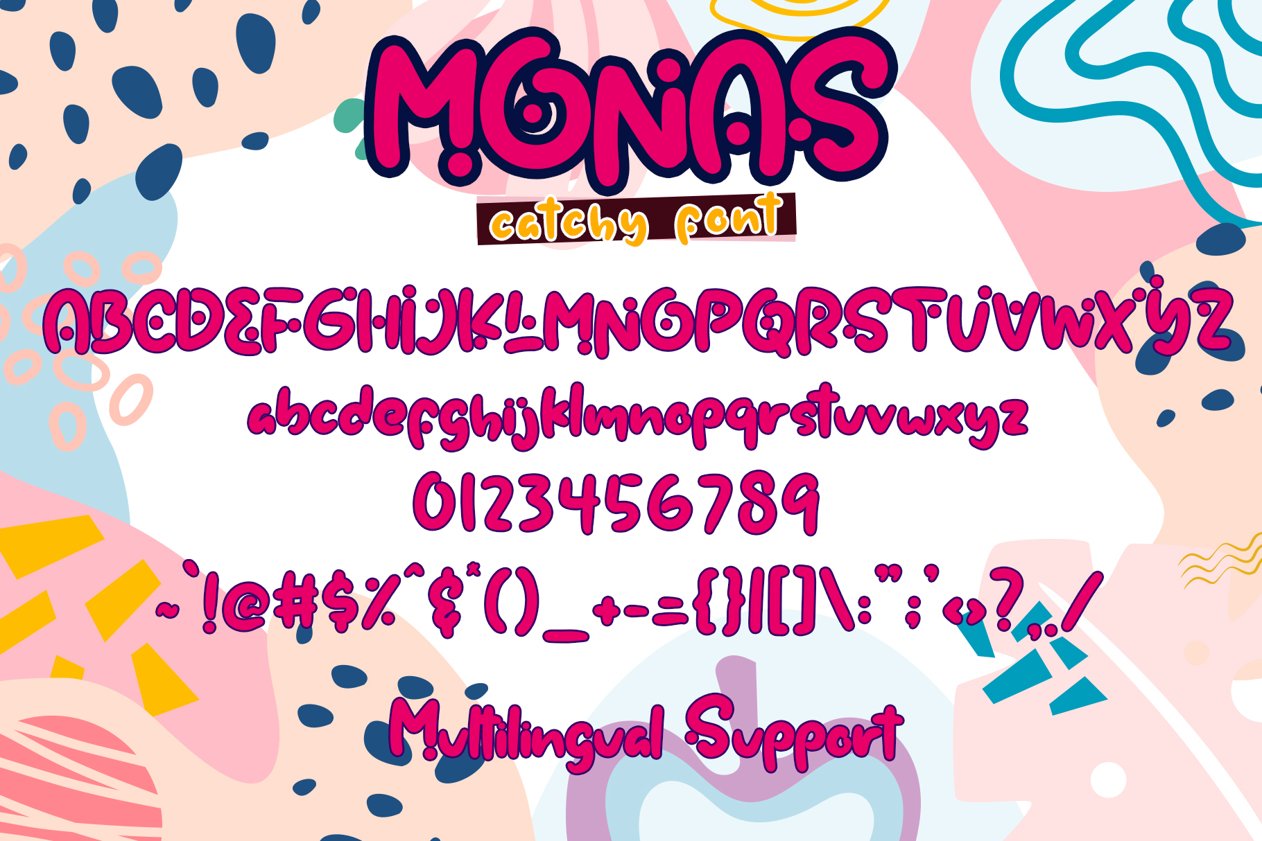 Monas - Catchy Font example image 8