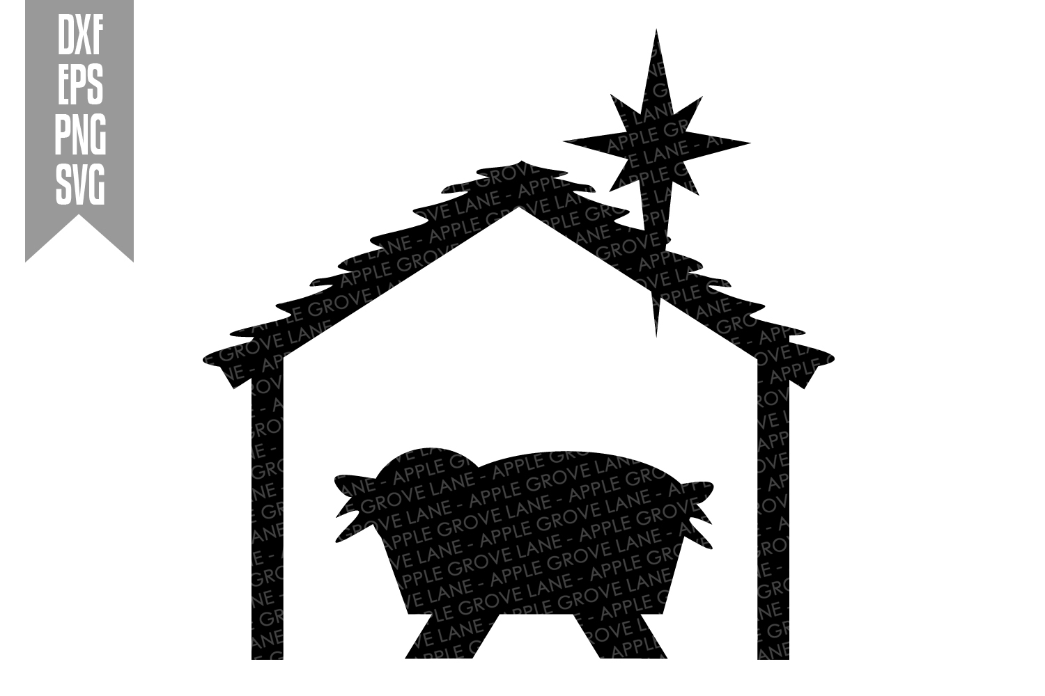 Nativity Svg Bundle - 9 designs included - Svg Cut Files example image 7