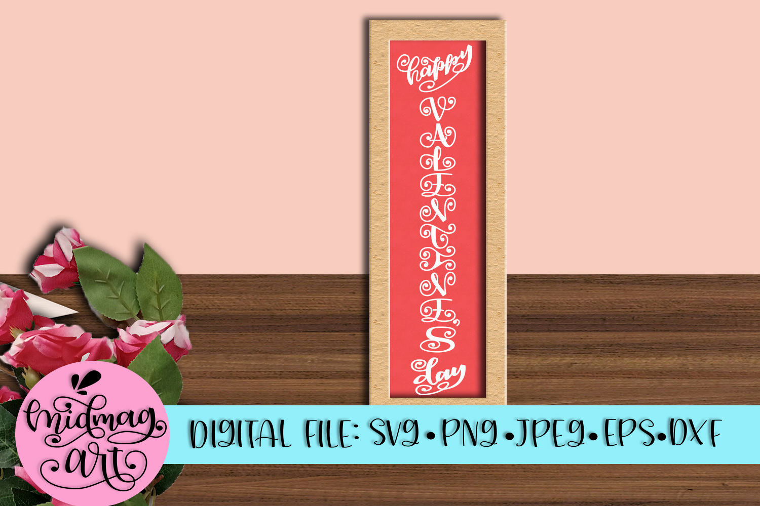Happy Valentine's day svg, png, jpeg, eps and dxf example image 1