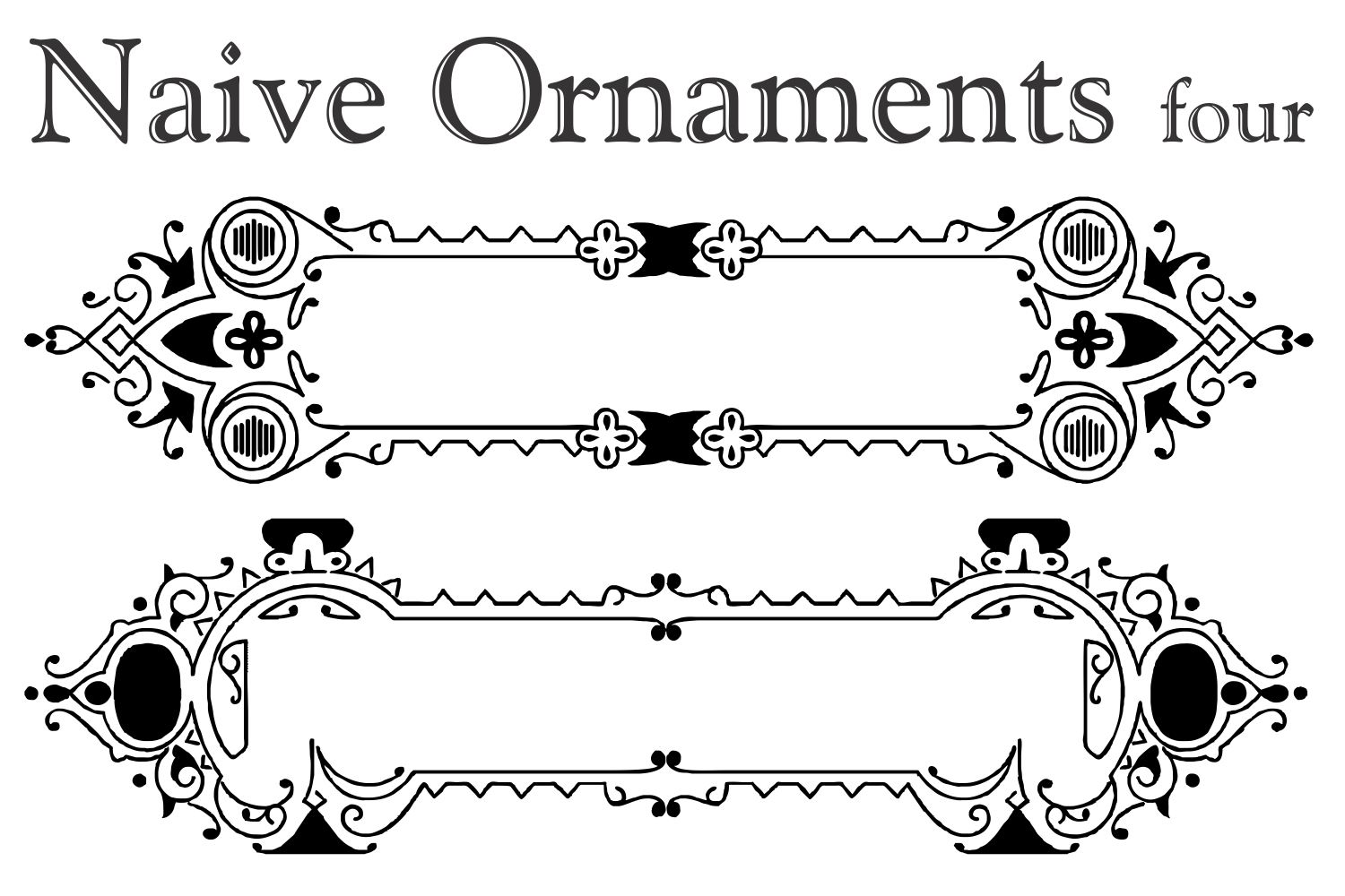 Naive Ornaments Four example image 5