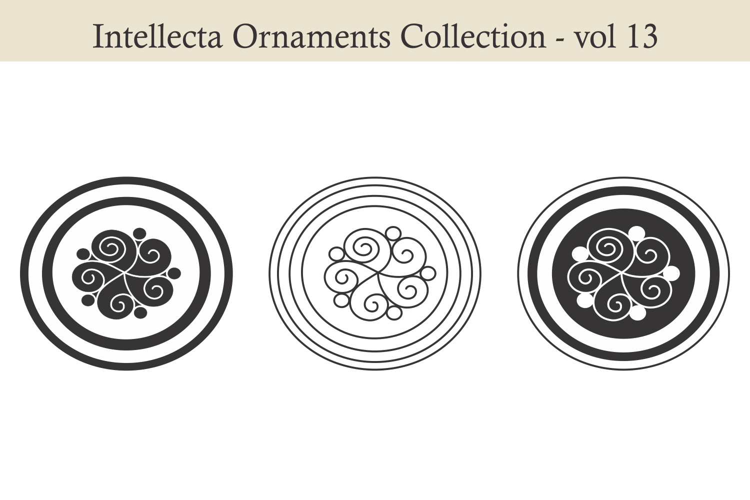 Intellecta Ornaments Collection 13 example image 5