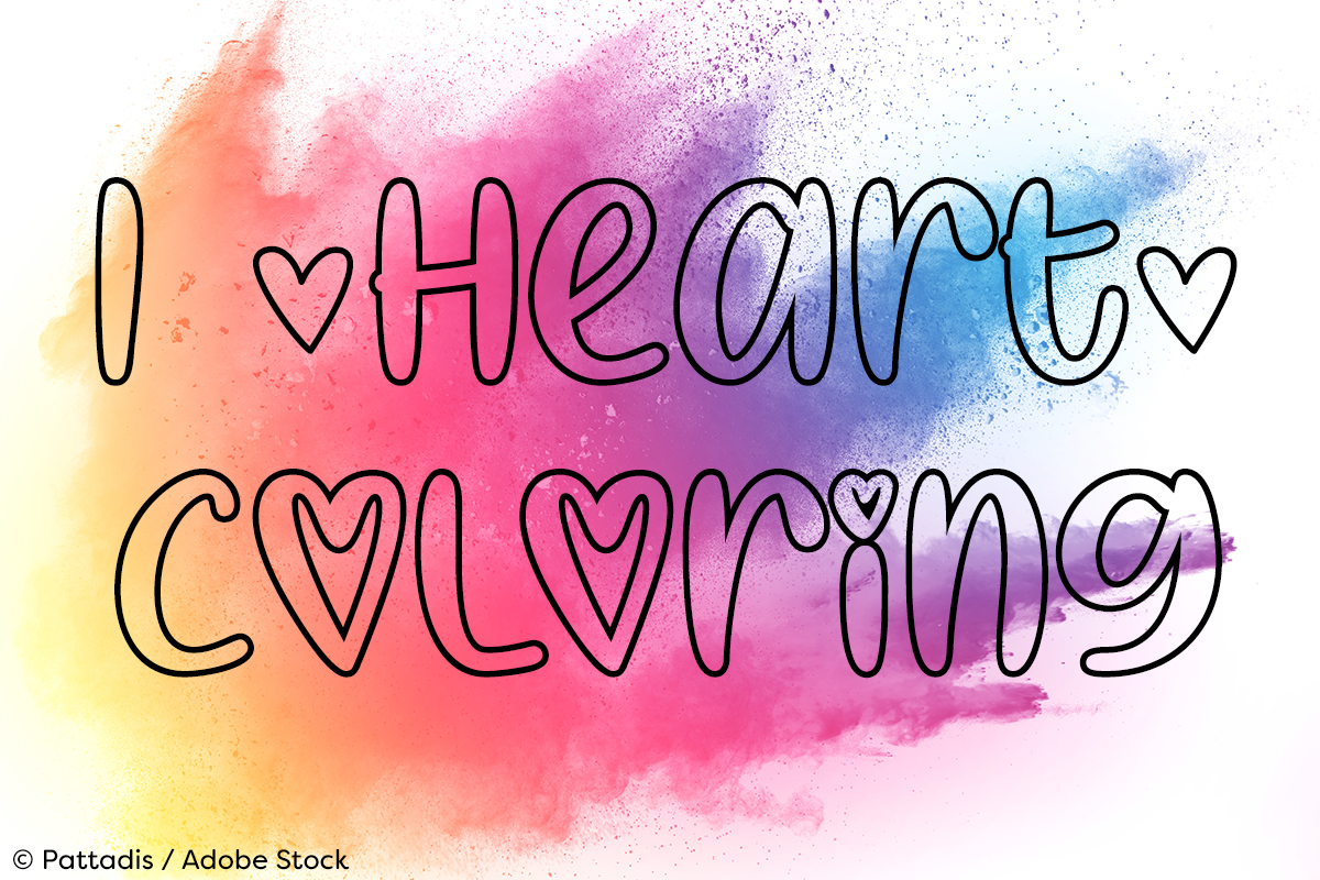 I Heart Coloring example image 1