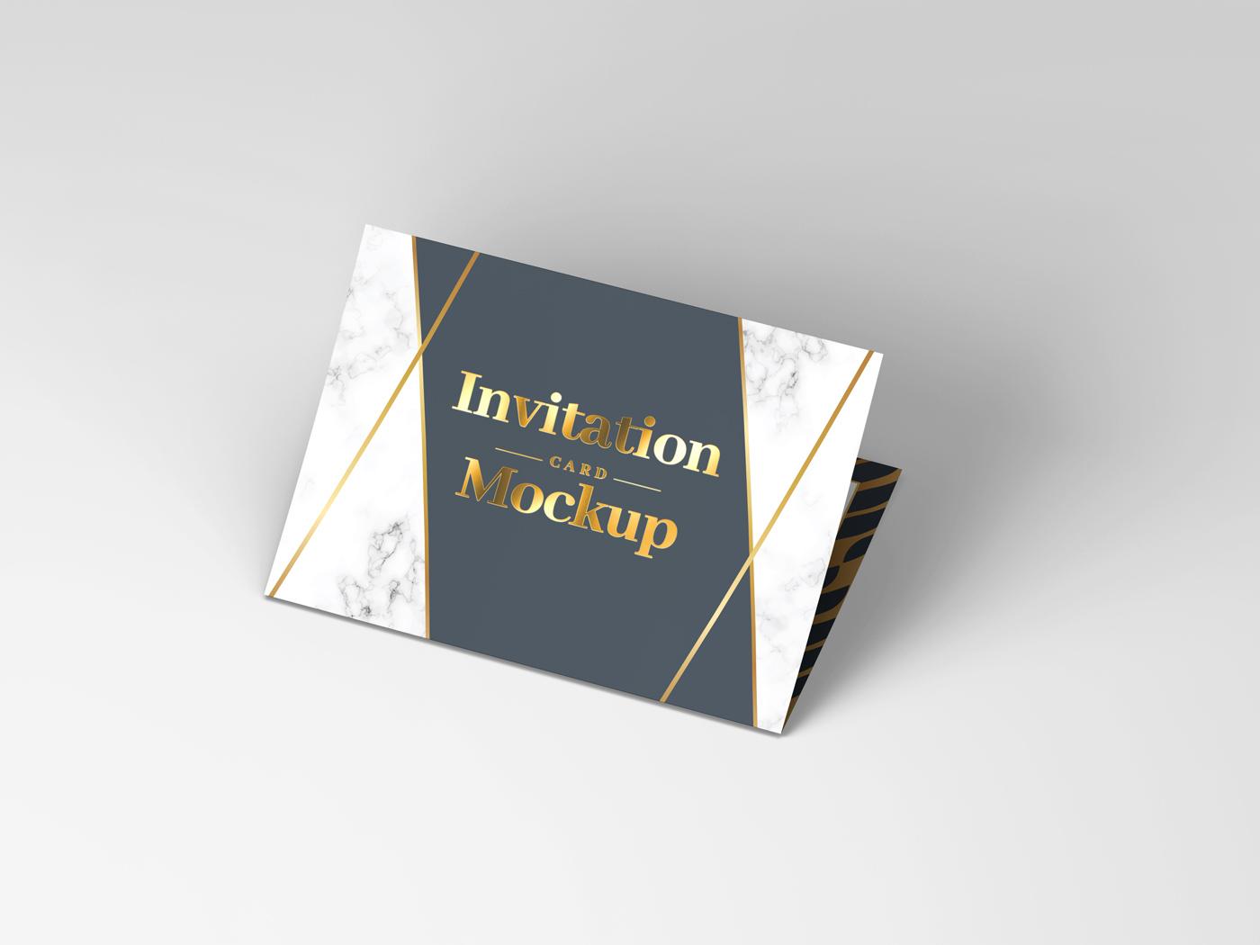 Invitation Card Mockups V1 example image 9