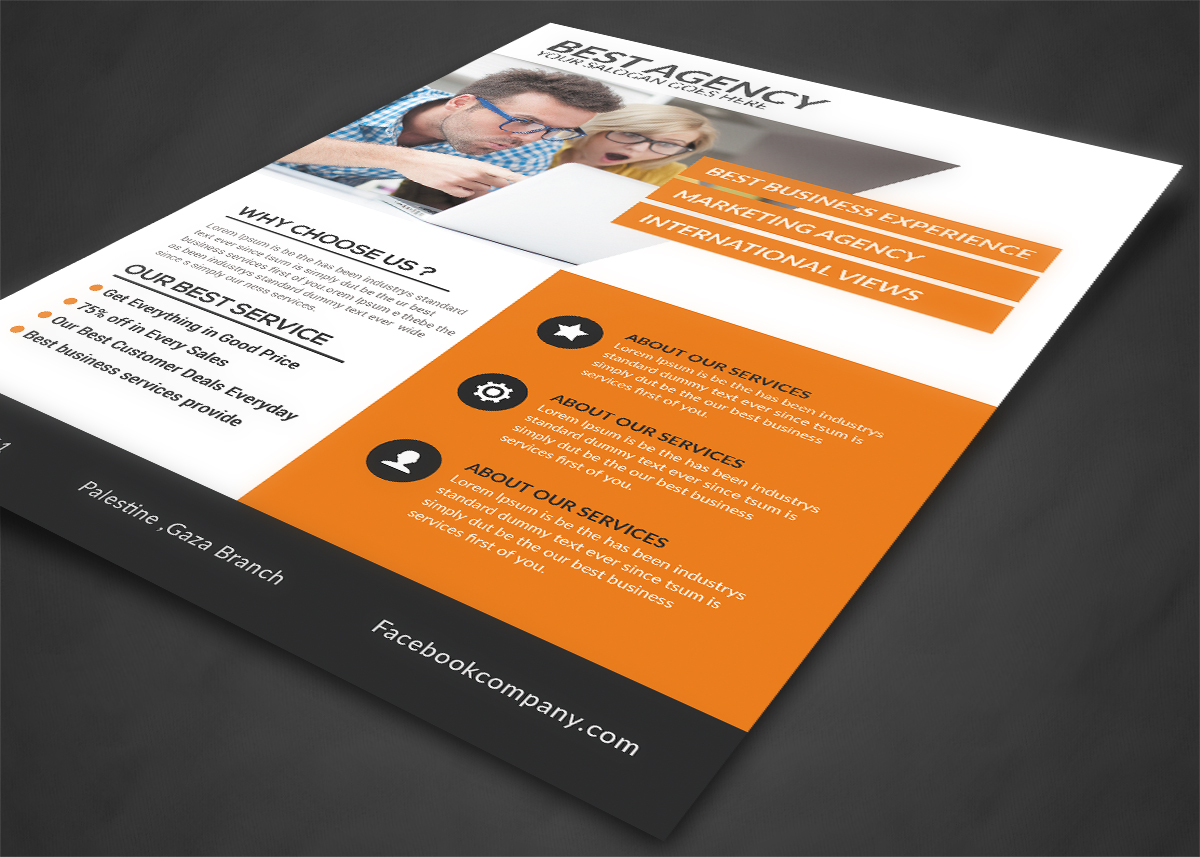 Best Agency Flyer example image 3