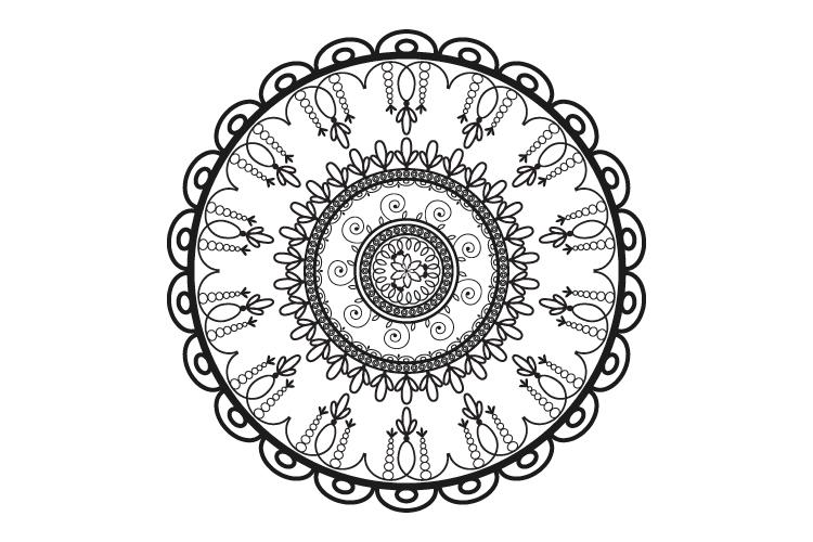Mandalas. Round forms. example image 7