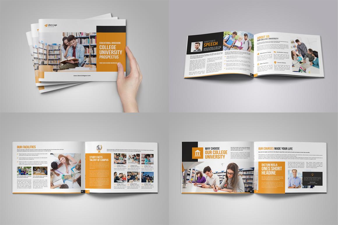 Education Prospectus Brochure Bundle example image 4
